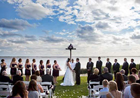 Wedding Ceremony at The Currituck Club