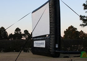 KHK Large Inflatable Movie Projector Screen