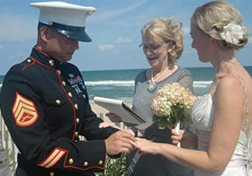 Reverend Barbara Mulford OBX Wedding Officiants