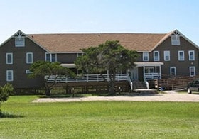Seaside Inn Hatteras wedding venue and wedding party accommodations