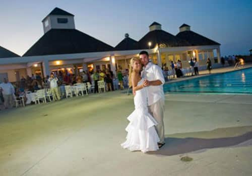 Oceanfront Venue Outer Banks Village Beach Club Wedding