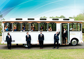 Trolley OBX Wedding Transportation