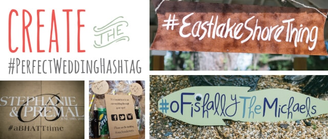 Wedding Hashtag Generator The Knot.Create The Perfectweddinghashtag Outer Banks Wedding Guide