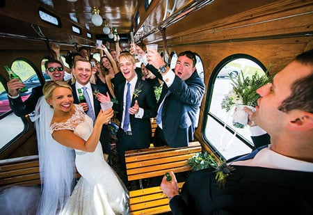 outer banks wedding party
