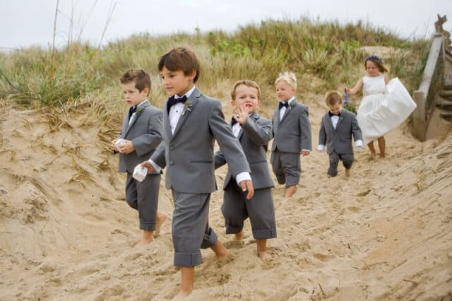Kids in weddings
