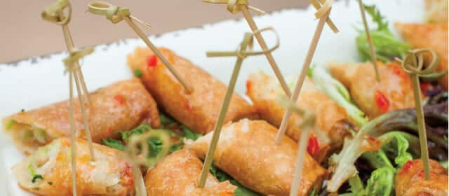 wedding catering hor d'oeuvres