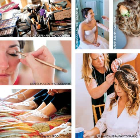 Beauty and pampering for brides