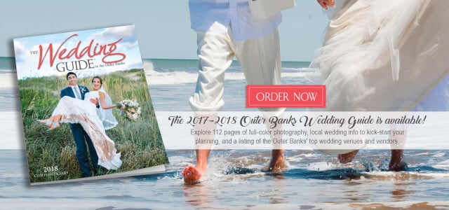 Outer Banks Wedding Guide - Barefoot Couple Walking in Water