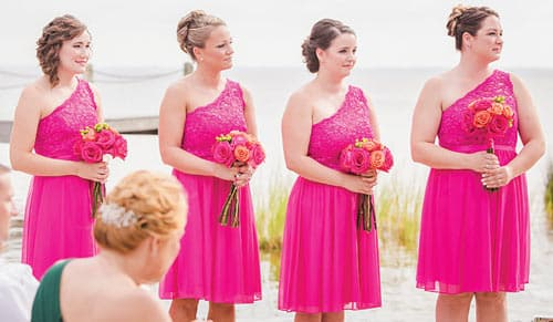 outer banks wedding trends 2018
