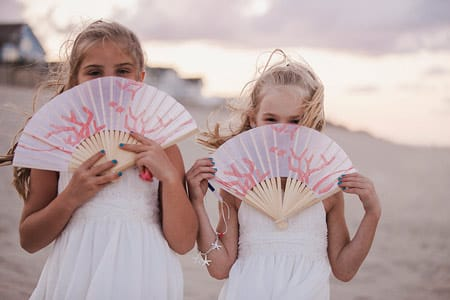 kids in outer banks weddings