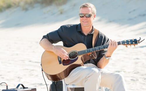 outer banks wedding musician