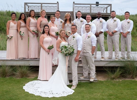real obx wedding