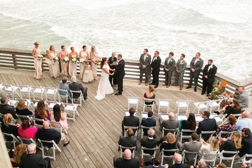 Jennette's Pier weddings