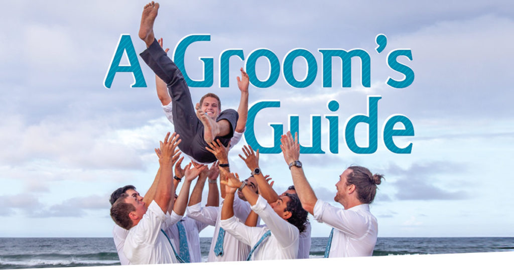 grooms guide wedding planning